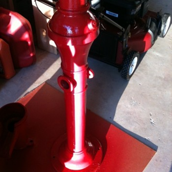 Cast Iron Water Pump - Tools and Hardware