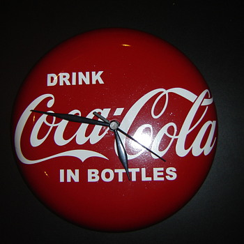 "Newest ""coca-cola""clock!"