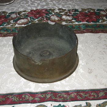 World War II Trench art ash tray