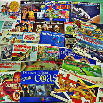 A Lot of 50+ Brooke Bond English Tea Albums