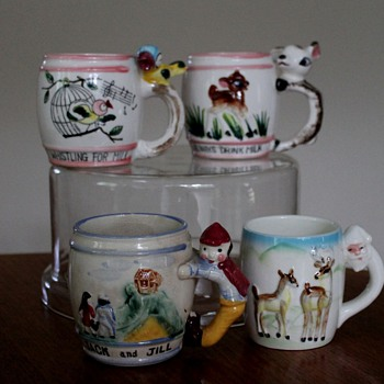 Japanese Children's Milk Cups - Kitchen