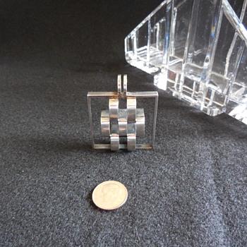 Elis Kauppi Modernist 925s Finland Pendant  - Sterling Silver