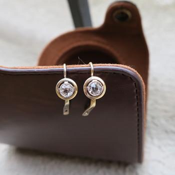 Earrings from USSR - Fine Jewelry