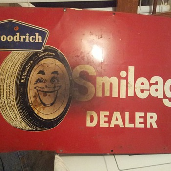 B.F. Goodrich Silvertown Smileage Dealer - Signs