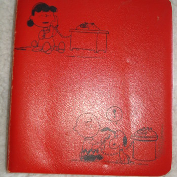 LUCY AND CHARLIE BROWN PHONE BOOK