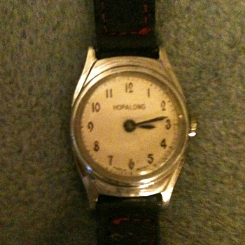 "1960 ""Name Only"" Hopalong Watch - Wristwatches"