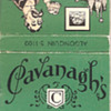 Mustache Mug Matchbook from Cavanagh's