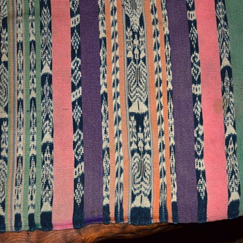 Beautiful Guatemalan Ikat Cloth - Rugs and Textiles