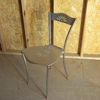 aluminum chair - Furniture