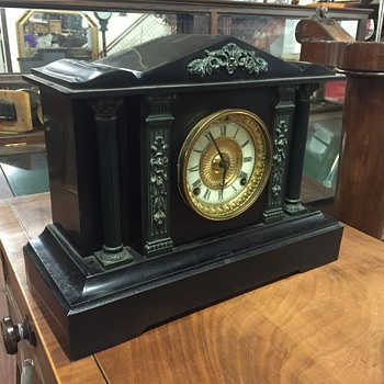Ansonia clock identification  - Clocks