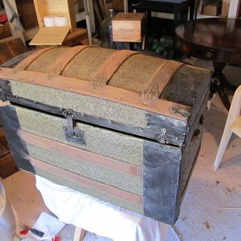 Greene  Camelback or Dometop  Trunk - Furniture