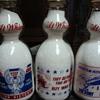 War Slogan Creamtops From Sanitary Dairy.......