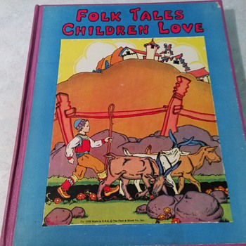 FOLK TALES CHILDREN LOVE 1932