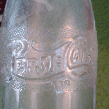 OLD Pepsi bottle