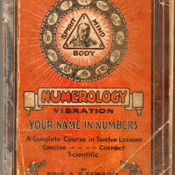 "1930 - ""Numerology Vibration"""