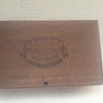 Mystery cigar box and vesta case