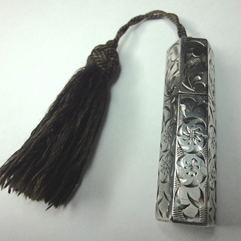 "My 200th  ""jewel"" published on CW; a late Victorian/Edwardian silver lipstick case/holder - Fine Jewelry"