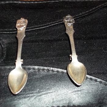 USN SPOON PINS - Sterling Silver