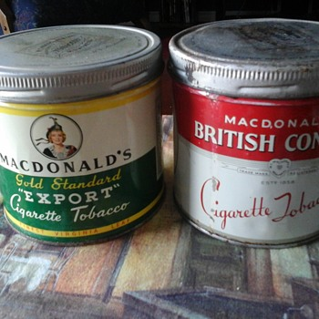 W.C. MacDonald tin - Tobacciana