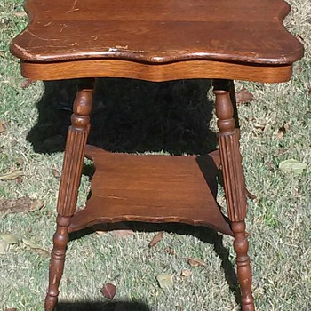 Conrey-Birely table circa 1889-1909?