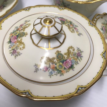 Noritake M  mystery pattern  - China and Dinnerware