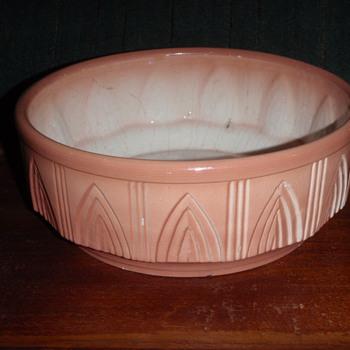 Mystery Eagle Pottery Bowl/Planter - Pottery