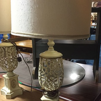 Mid Century Lamps - Lamps