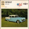 Vintage Car Card - Chevrolet 210 Del Ray