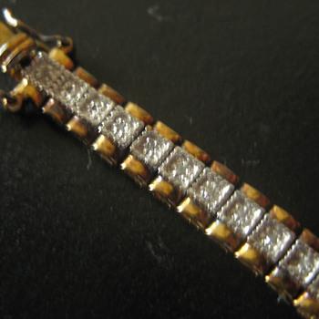 Tennis Bracelet - Costume Jewelry