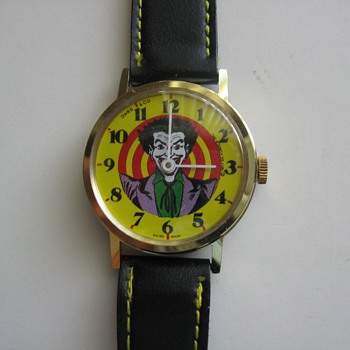 DABS & Co. Joker (Batman) Wrist Watch Circa 1977
