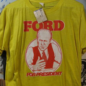 ford for president t-shirt from korvette's new with tags