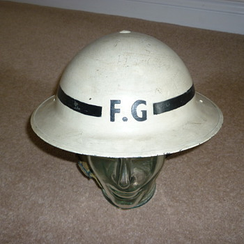 WW11 Senior Fire Guard - Military and Wartime