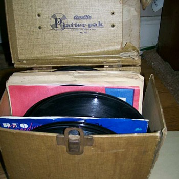 45 record carry case Platter- pak