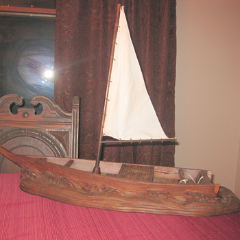 Old ship - Folk Art