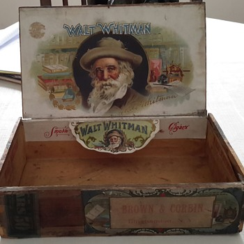 walt whitman cigar advertising