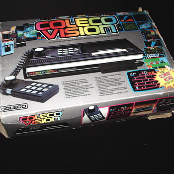 "Coleco Vision Game System""1982"""