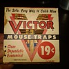 Vintage Victor Mouse Traps in box