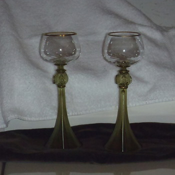 Need Help to Identify Moser Type wine? glass? - Glassware