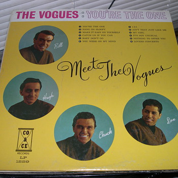 THE VOGUES YOU'RE THE ONE CO & CE RECORD LABEL 1229 - Records