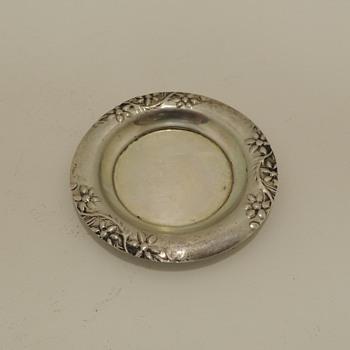 Miniature Dish - Israeli Silver