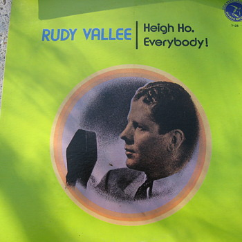 Rudy Vallee.... - Records