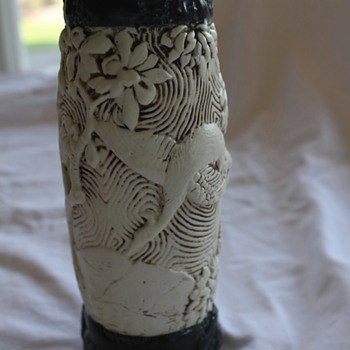 Very Pretty Pottery Vase - Unknown Maker - Art Pottery
