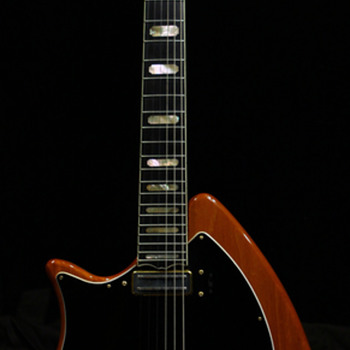 1980 Lefty Ovation Deacon  - Guitars