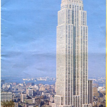 World Trade Center & Empire State Building Brochures - Advertising