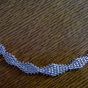 Gorgeous .925 Sterling Flexible Mesh Bracelet Rummage Market Find $2.75!!