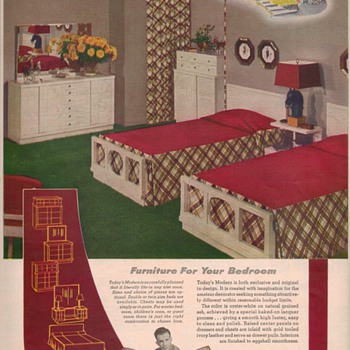 1950 United Furniture Advertisements - Advertising