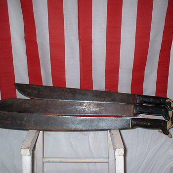 WWI Machete and others
