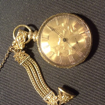 Francis DuBois & Co. from Locle pocket watch - Pocket Watches