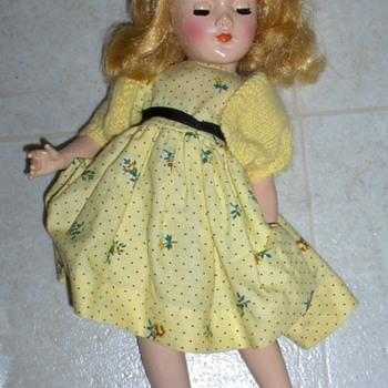 """Vinatge 14"""" Doll"""