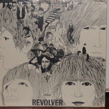 Beatles Revolver - Records